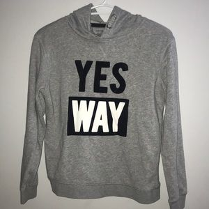 George 'Yes way' sweater